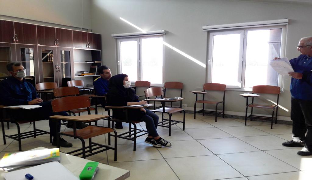دوره آموزشی آشنایی با اصول برنامه ریزی تولید برگزار شد.