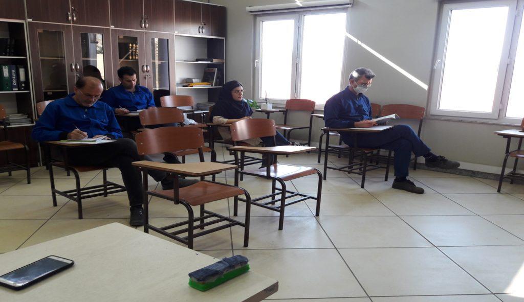 دوره آموزشی آشنایی با اصول برنامه ریزی و کنترل تولید با حضور مدیریت محترم عامل برگزار شد.