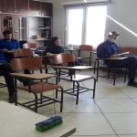 """Holding """"production schematization principles and production control"""" tutorial course, in the presence of the management"""